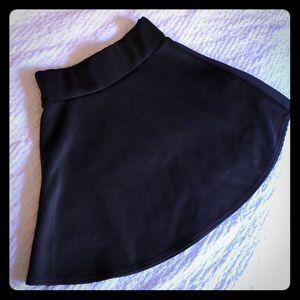 Pretty little thing black skirt
